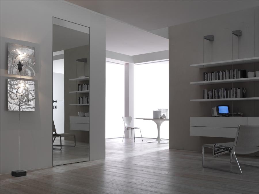 Filomuro soluzioni per separare ambienti idee pavimenti - Porta a specchio ...