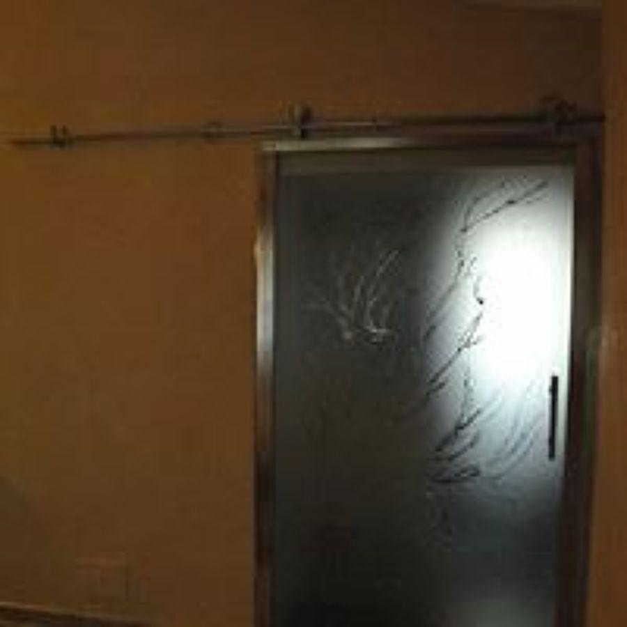 Foto: Porta Scorrevole Interna con Binario Superiore di ...