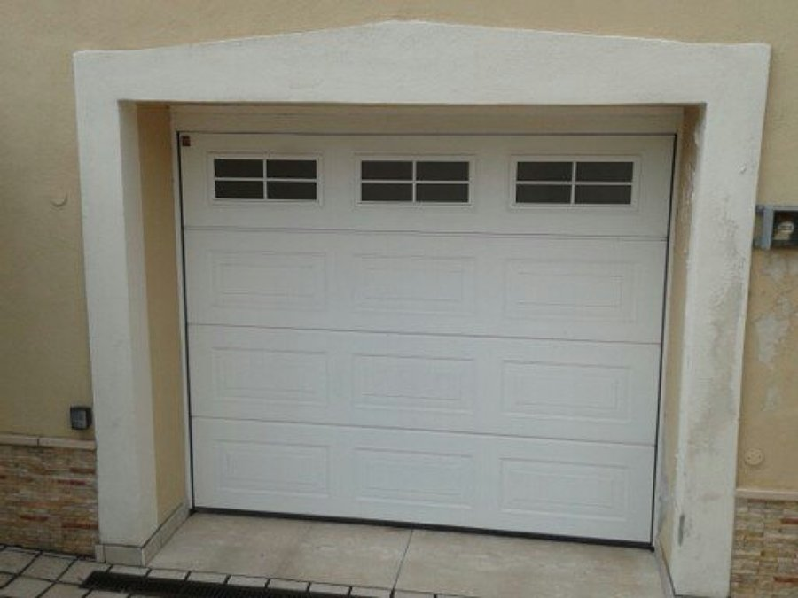 Progetto portone blindato con porta sezionale hormann e persiane blindate a ailano ct idee - Porta garage sezionale prezzi ...
