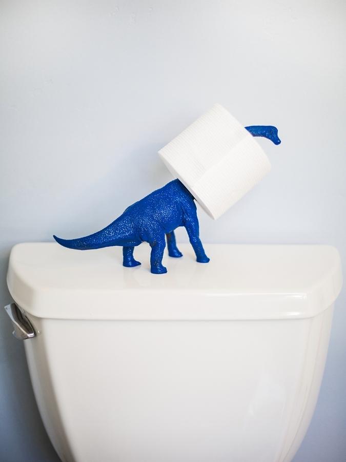 portarotolo dinosauro