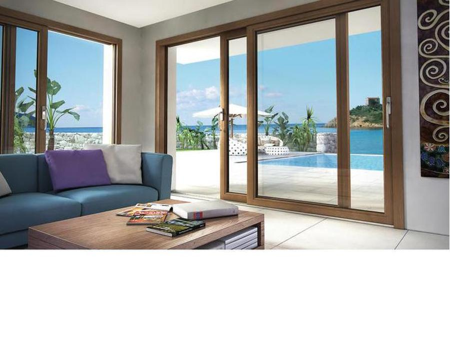 porte finestre alzanti scorrevoli
