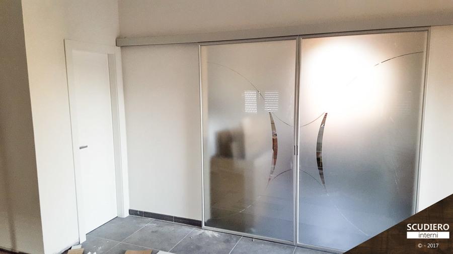 Porte garofoli scorrevoli stunning vista interna di una for Porte scorrevoli in vetro garofoli