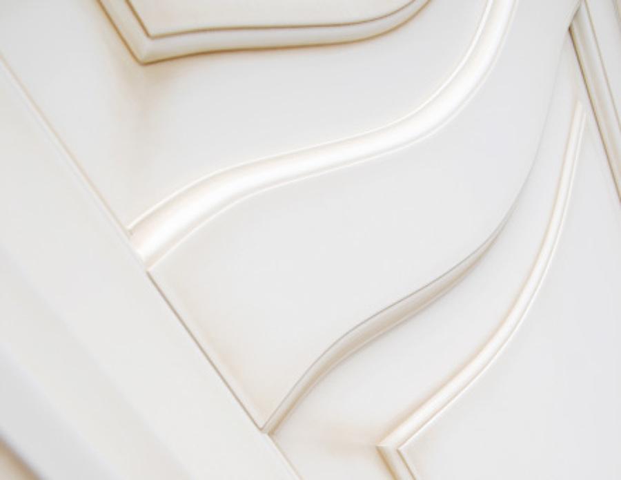Porta interna classica artigianale idee falegnami - Porte interne bianche ...