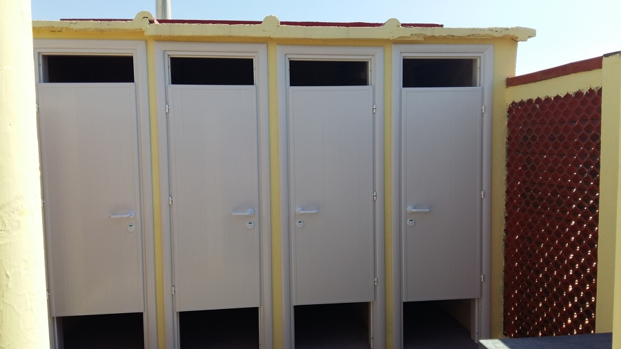 Porte per Docce in PVC