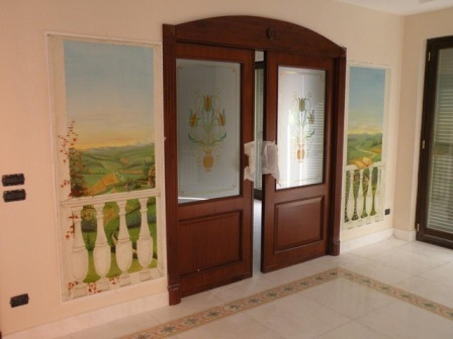 Foto porte scorrevoli salone cucina di architetto de rosa - Porte scorrevoli per cucina ...