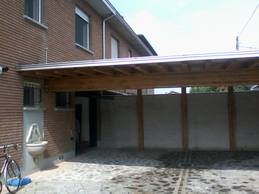 porticato idee costruzione garage