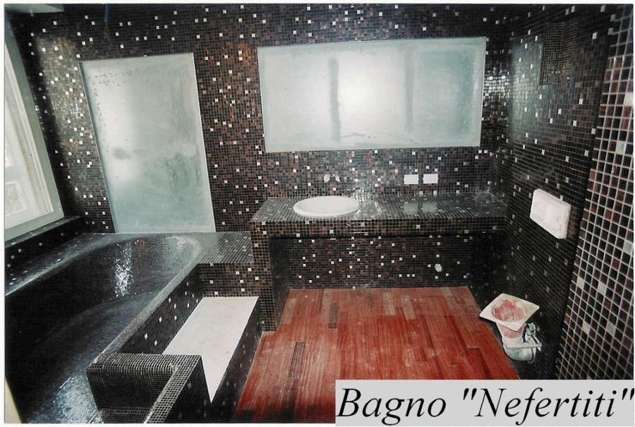 Progetto di posa di mosaico vetroso bisazza idee - Posa mosaico bagno ...