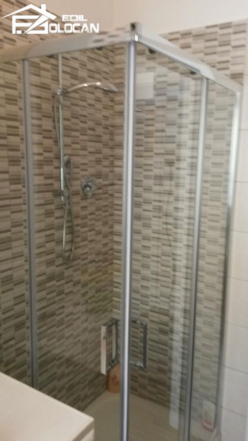 Posa mosaico box doccia with doccia mosaico - Posa mosaico bagno ...