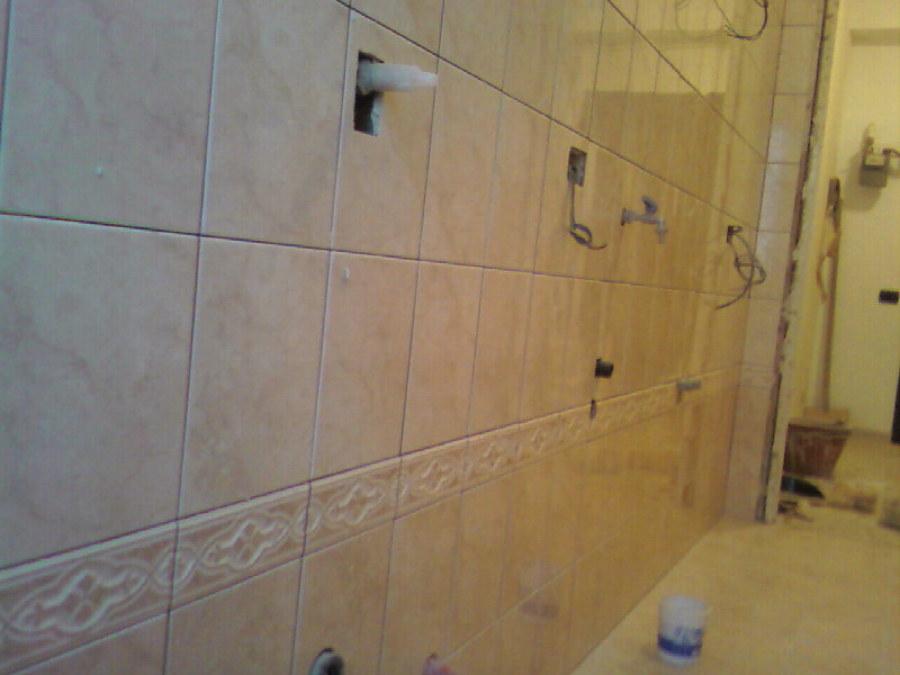 Progetto di ristrutturazione bagno a cinisello balsamo idee ristrutturazione bagni - Posare piastrelle bagno ...