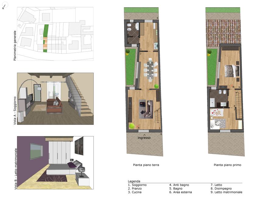 Progettazione di massima per ristrutturazione di edificio for Progettazione di idee di scantinato