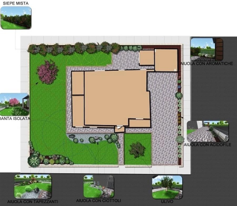 Progetto pianificazione giardini ad asola mn idee for App progettazione giardini