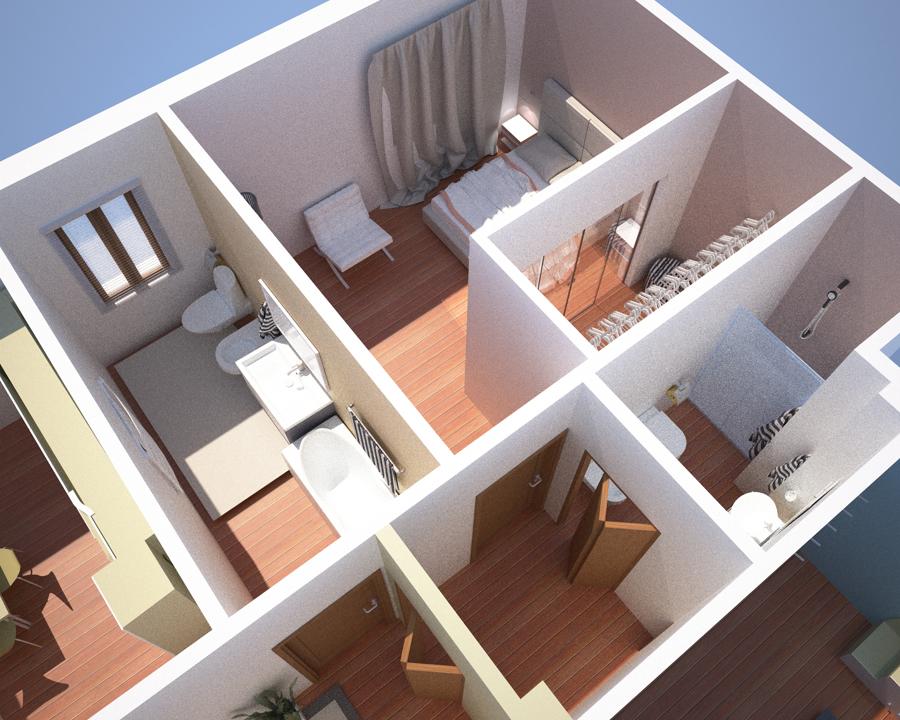 Progettazione interni appartamento milano idee architetti for Programmi progettazione interni