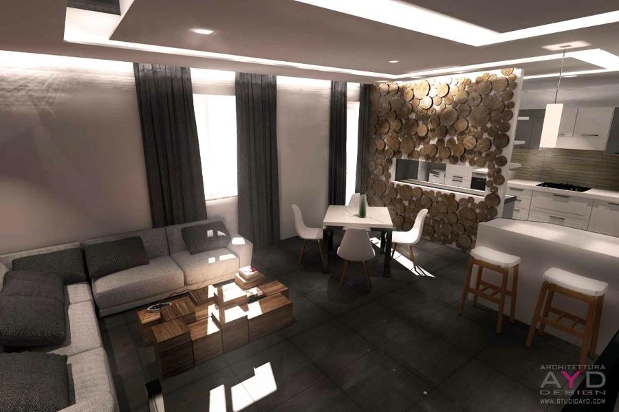 Progetto di ristrutturazione casa rosta idee for Interni casa design