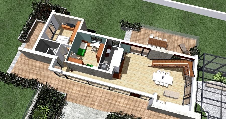 Foto progettazione per una villa bifamiliare in fase di for Come progettare un piano casa online gratuitamente