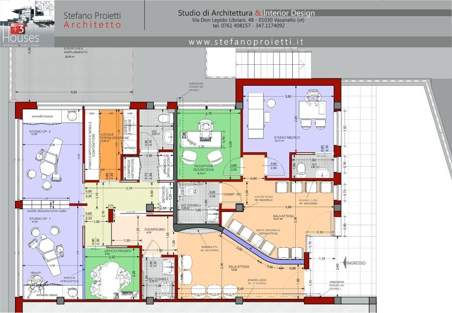 Foto progettazione per uno studio medico e odontoiatrico for Design di architettura online gratuito per la casa