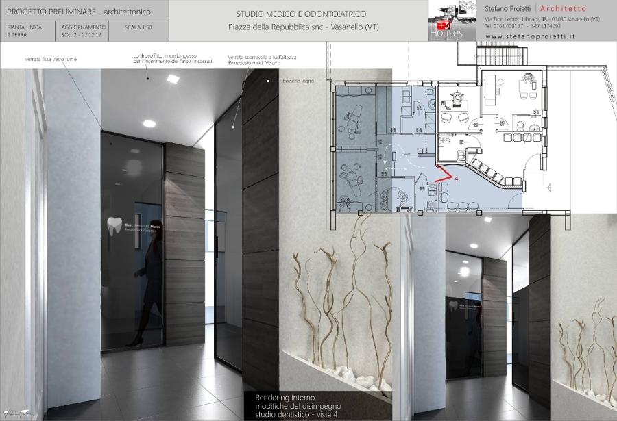 Foto progettazione per uno studio medico e odontoiatrico for Pianificatore di layout di garage