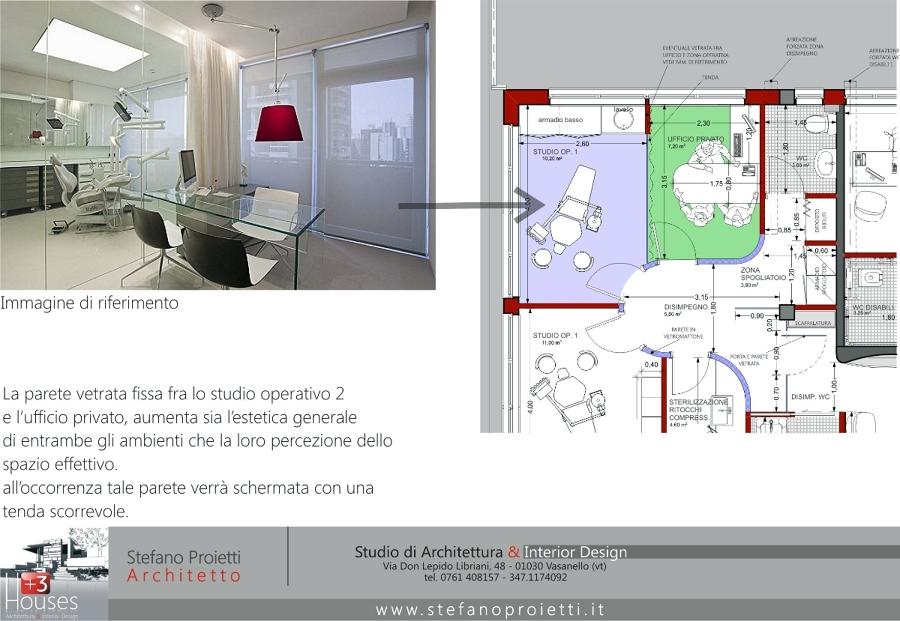 Foto progettazione per uno studio medico e odontoiatrico for Progettazione di architettura online