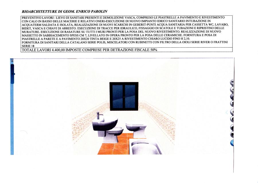 Progetto ristrutturazione bagno idee architetti - Progetto ristrutturazione bagno ...