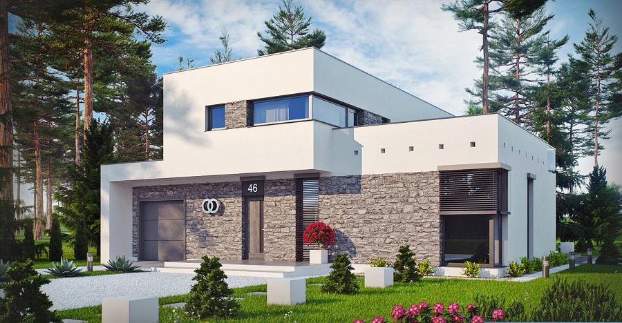 Foto progetto 3d casa roberta di woodsolution srl 365491 for Casa moderna progetti