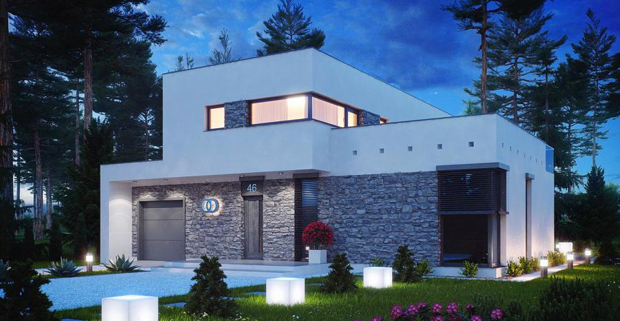 Casa roberta idee costruzione case prefabbricate for Progetto 3d casa