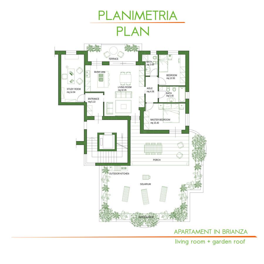 Progetto apartamento + terrazza