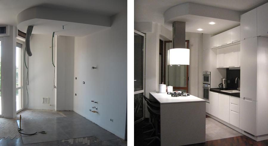 Progetto Ristrutturazione di Appartamento su due Livelli a Milano (mi)  Progetti Architetti