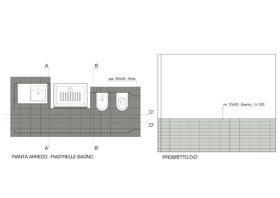 foto: progetto arredo bagno - rivestimenti e pavimenti - 1 di moma ... - Rivestimenti E Arredo Bagno