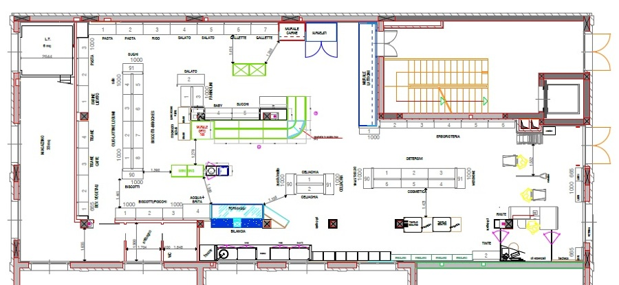 Progetto di studio arredi interni e vetrofania idee mobili for Foto arredi interni