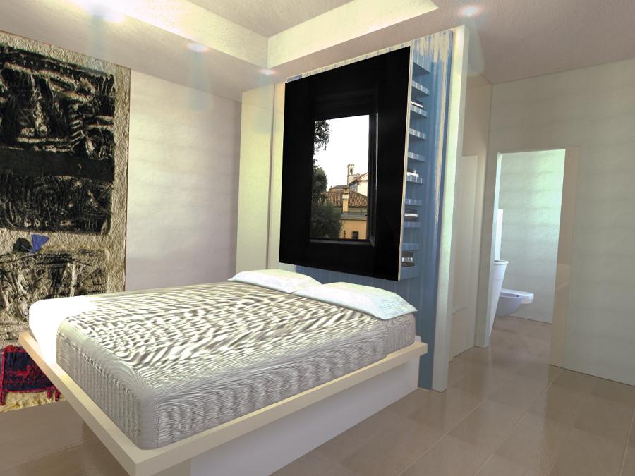 Progetto camera albergo diffuso idee ristrutturazione casa - Progetto camera da letto ...