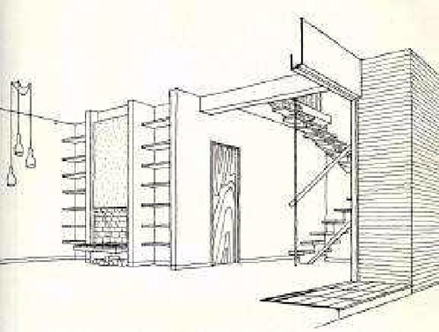 Foto progetto casa matharan di caminetti design by architetto angelo bellucci 39879 habitissimo - Progetto casa design ...