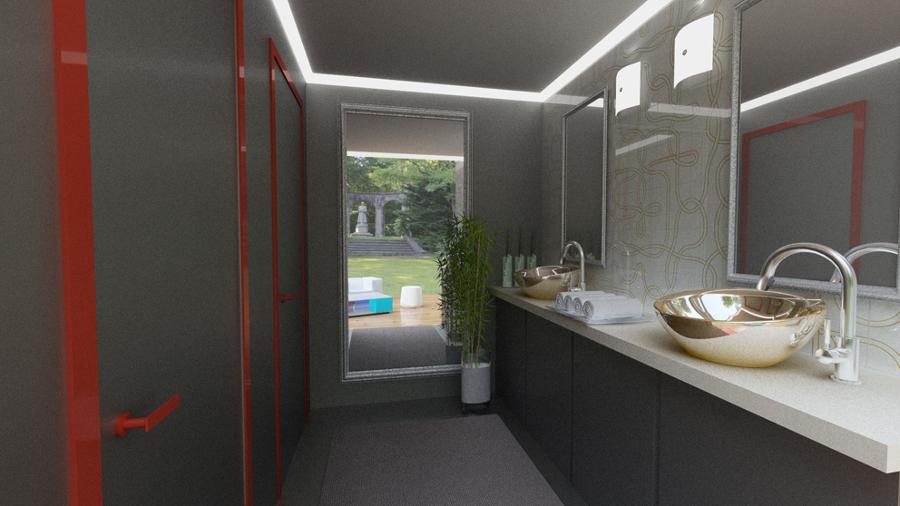 Foto: Progetto Container Bagni di La Casa Sostenibile #613666 ...