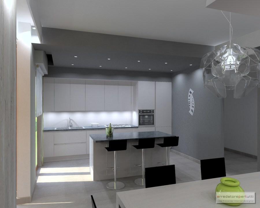 Progetto di ristrutturazione casa a firenze idee - Lavori di cartongesso in cucina ...