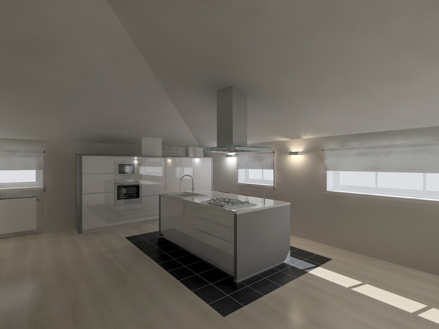 Fabulous progetto cucina in mansarda with cucine mansarda - Cucine in mansarda ...