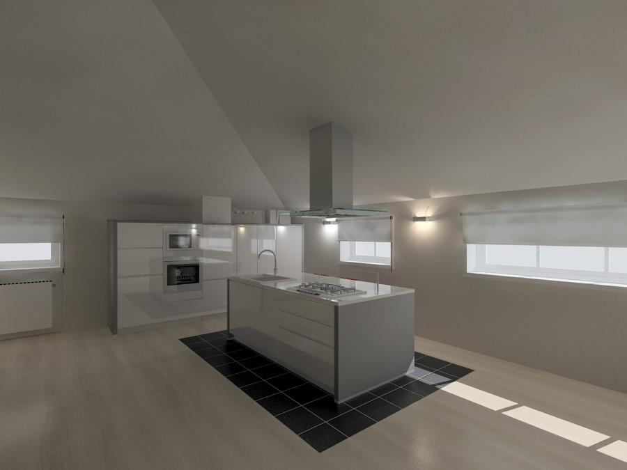 Cucina In Mansarda | Idee Interior Designer