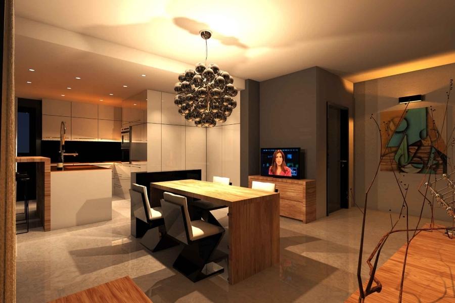 Progetto di realizzazione di interni casa idee for Architetti d interni famosi