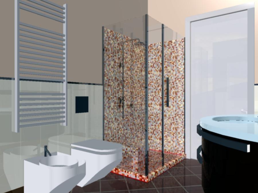 Relativamente progetti bagni moderni ci19 pineglen for Arredi bagno roma