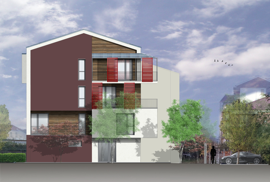 Progetto nuova costruzione residenziale idee costruzione case - Progetto costruzione casa ...