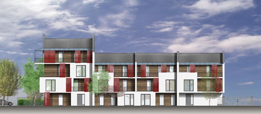 Progetto di nuovo complesso residenziale
