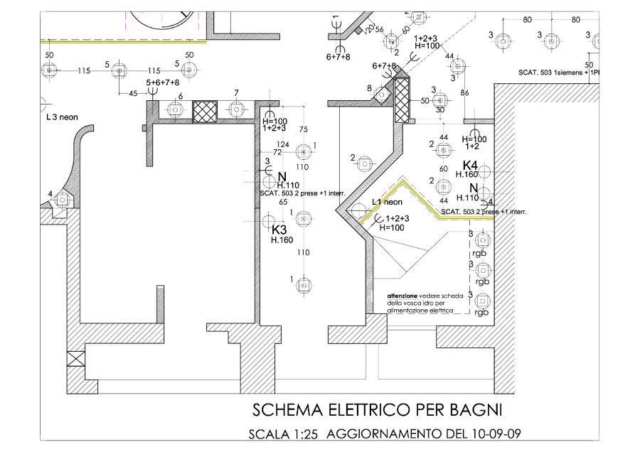 Progetto di ristrutturazione attico a Roma zona Talenti