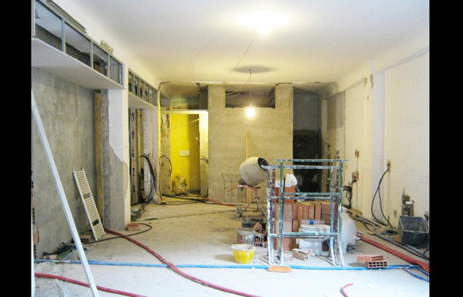 Foto progetto di ristrutturazione totale appartamento in - Progetto ristrutturazione casa gratis ...
