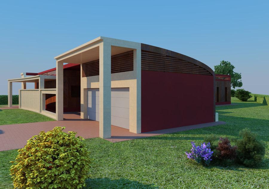 Progetto di una villetta prefabbricata in classe A+