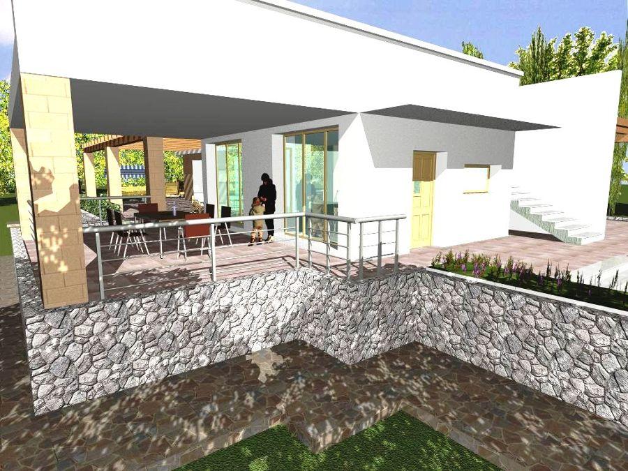 Foto progetto e costruzione di villa con piscina in for Piano di progetto di costruzione casa