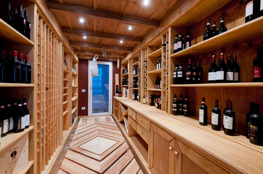 Foto progetto e realizzazione cantina vini di vergalli for Progettista del piano interrato