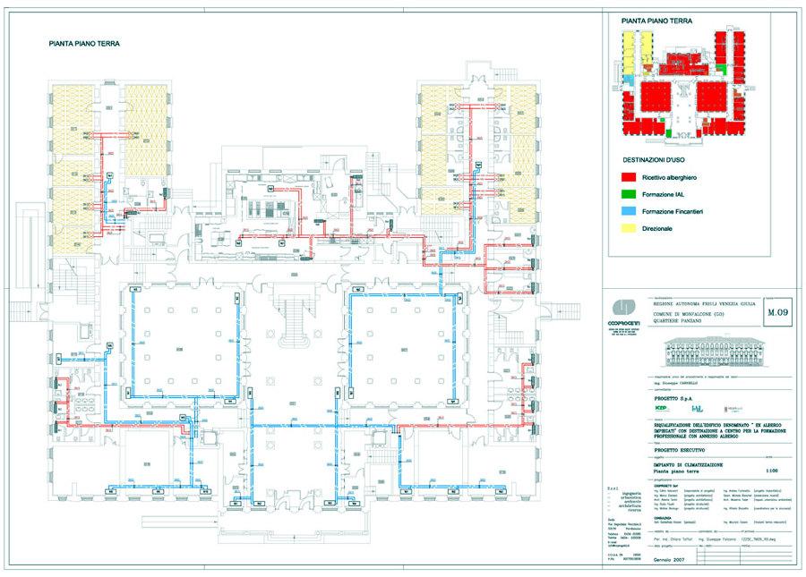 Progetto di realizzazione impianto riscaldamento in ex albergo impiegati idee riscaldamento - Costo progetto casa ...