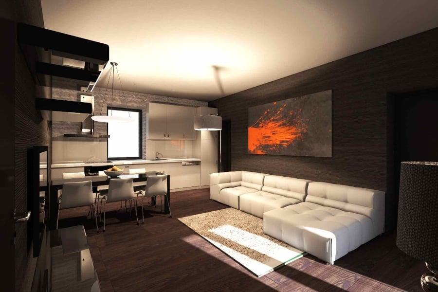 Progetto di interni appartamento idee ristrutturazione casa for Idee ristrutturazione appartamento