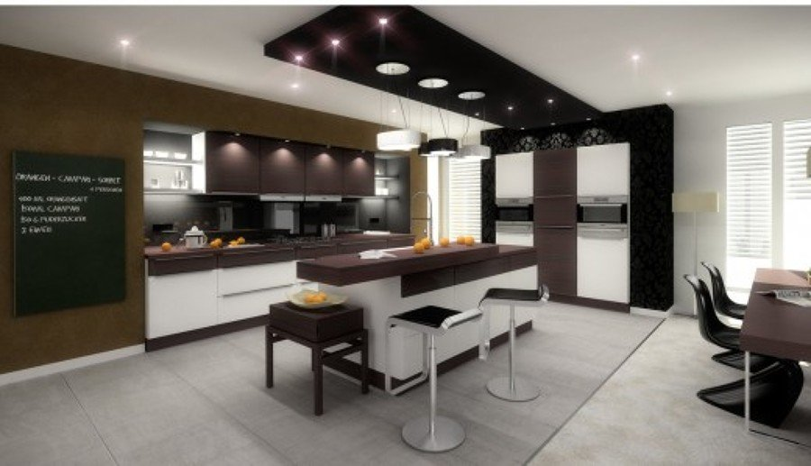 progetto living kitchen