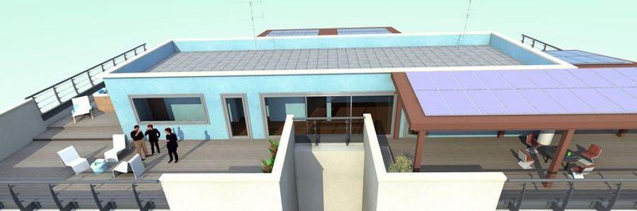 Progetto abitazione privata idee tende da sole for Tende per abitazione