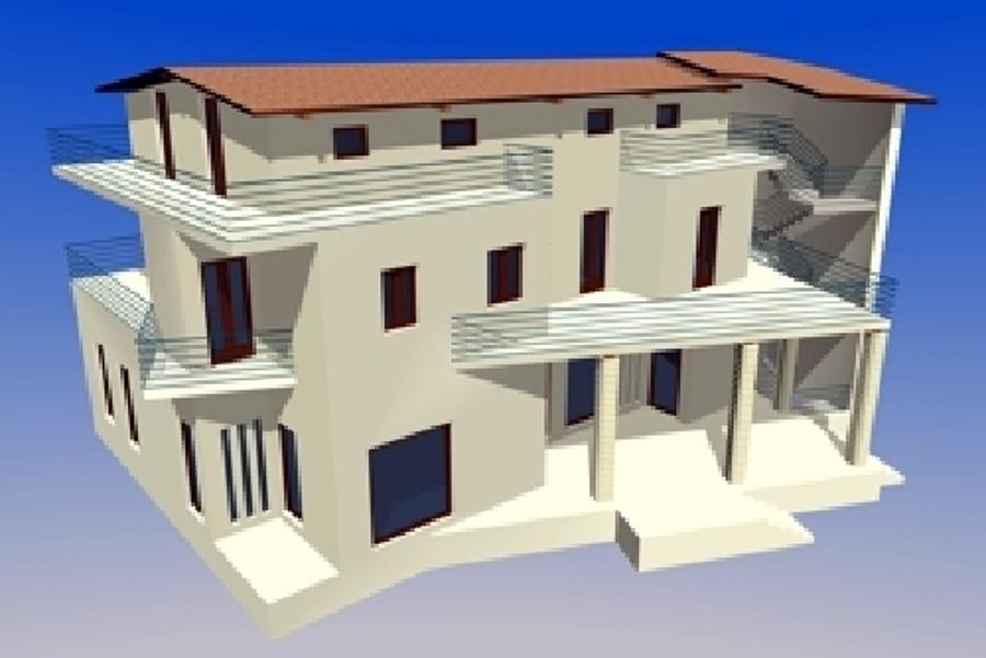 Progetto per civile abitazione Cesa