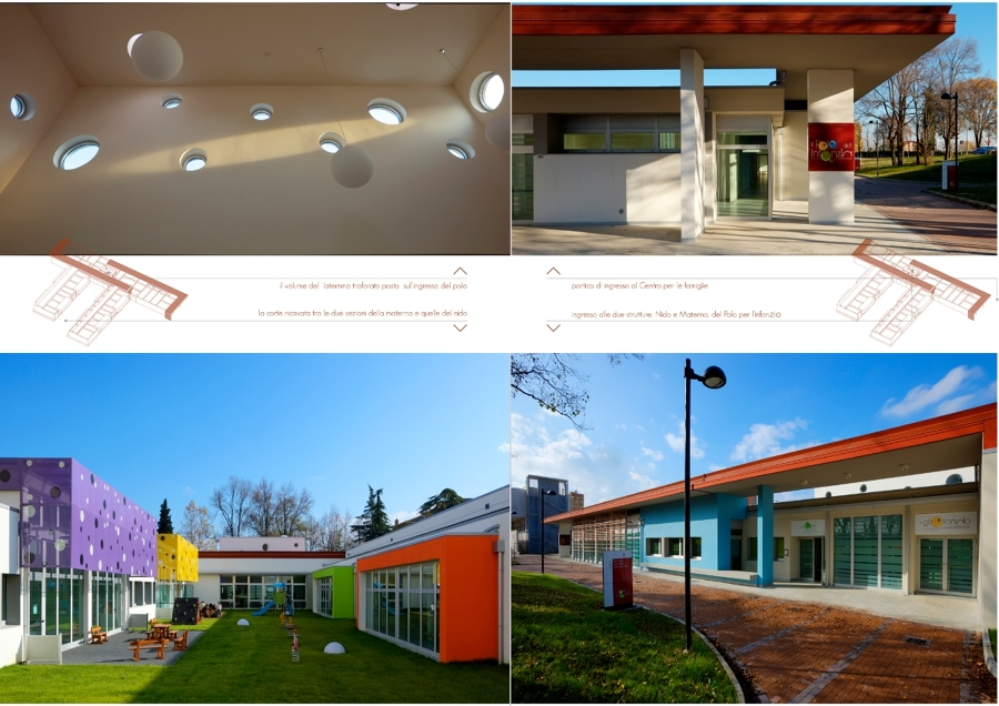 Progetto per il Polo scolastico di Ozzano dell'Emilia