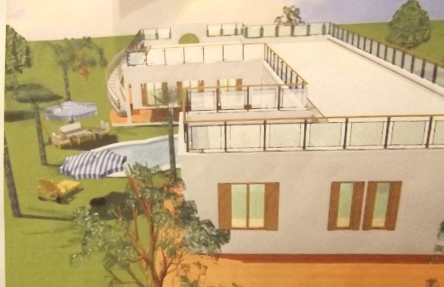 Progetto per villa con demolizione e ricostruzione piano for Piano casa di casoria